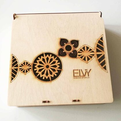 Wooden gifts box